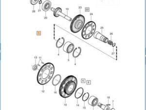 Drive Gear Set - Volvo (31272769)